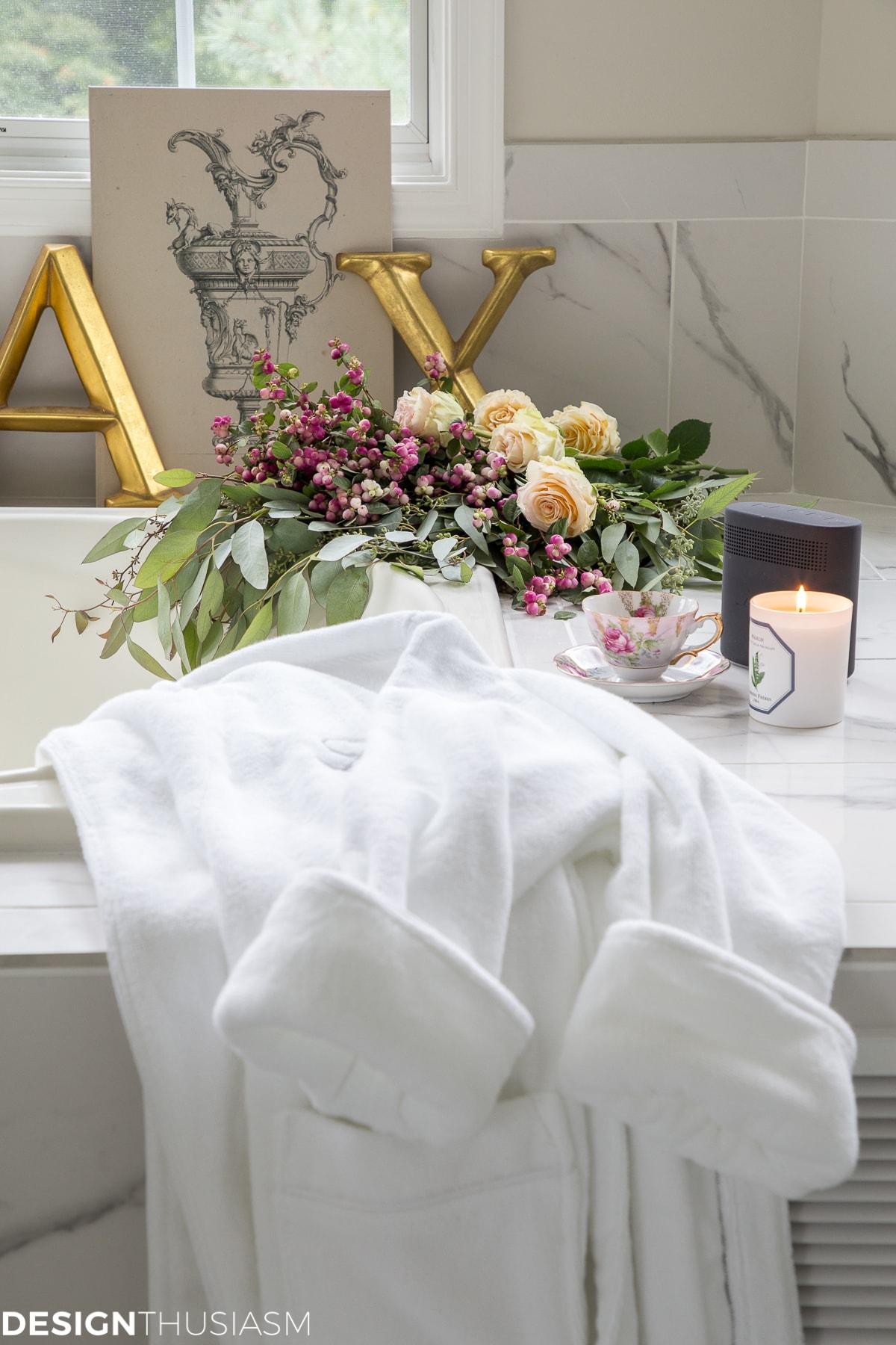 luxury living robe