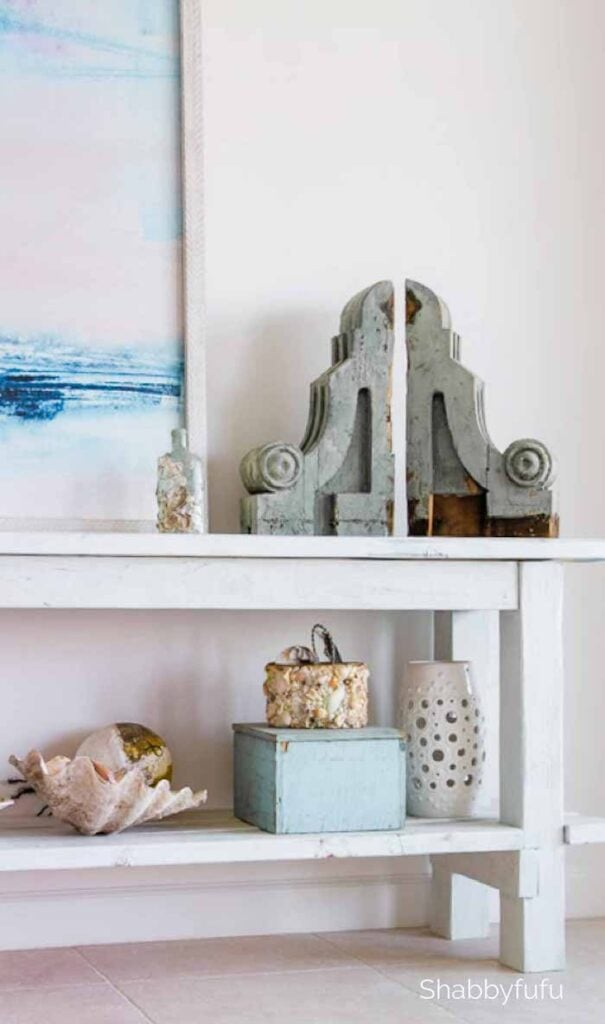 shabbyfufu - how to style bookshelves with real life examples