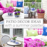 summer patio decor ideas