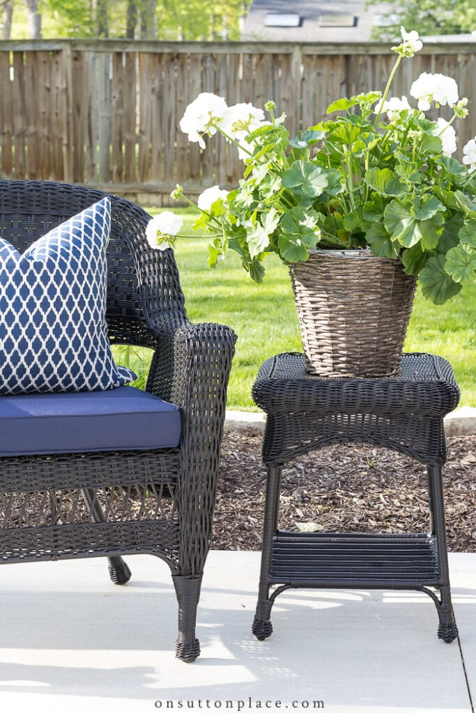 Patio Decor Ideas from On Sutton Place