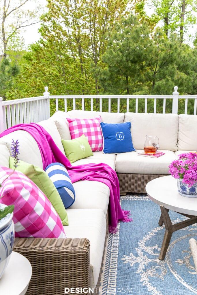 patio decor outdoor sofa