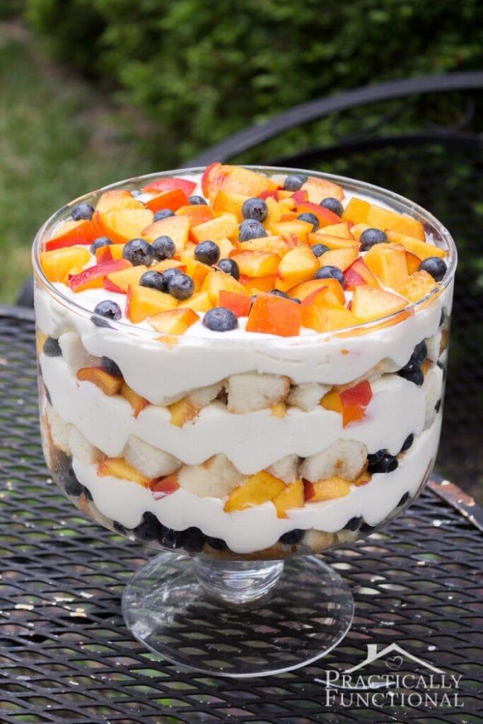 12 Summer Peach DessertsSH
