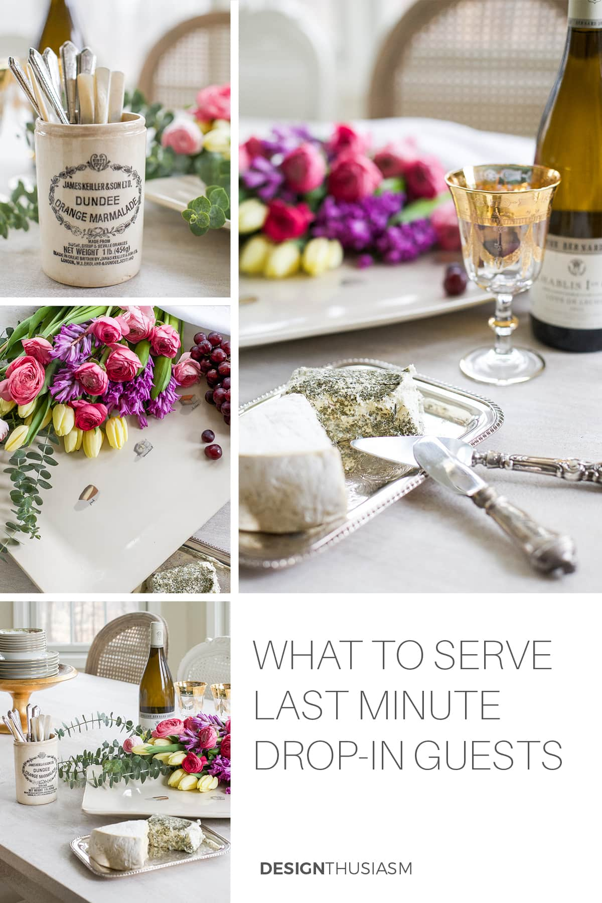Last minute Wine & Cheese Party