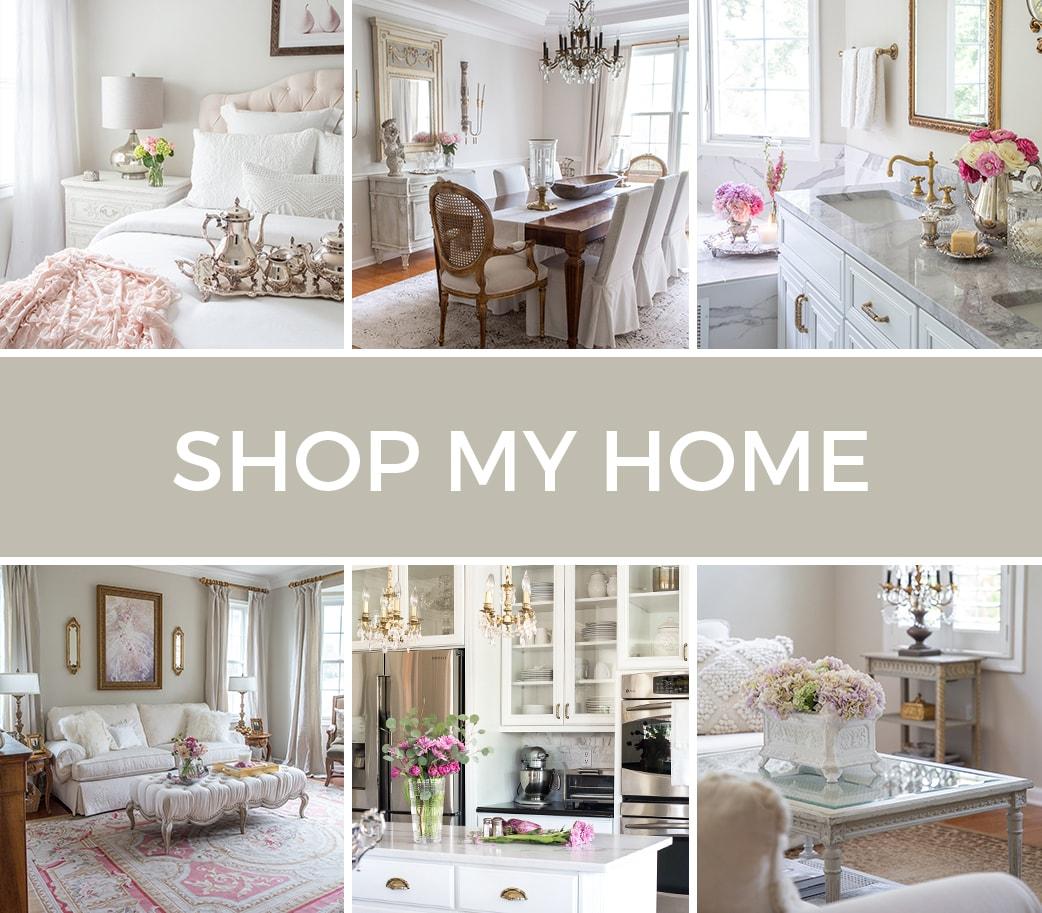 Designthusiasm Shop - Modern French Country - Home Decor - Shop My Home