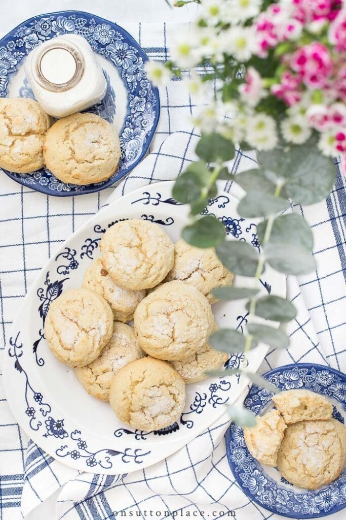 Soft Sugar Cookies from On Sutton Place