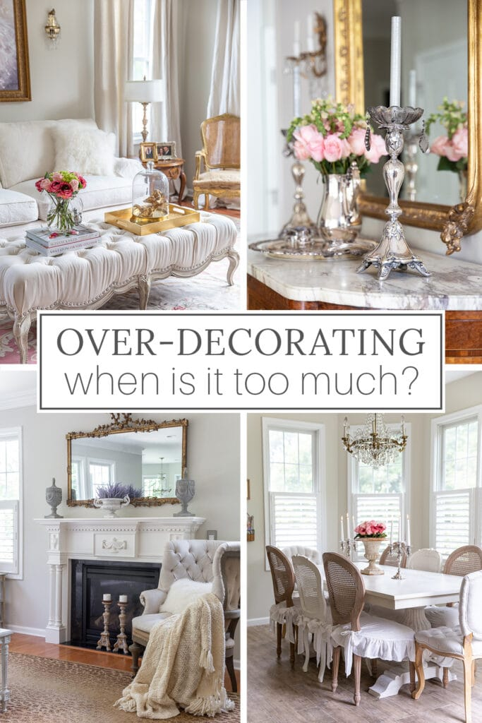 Are you overdecorating