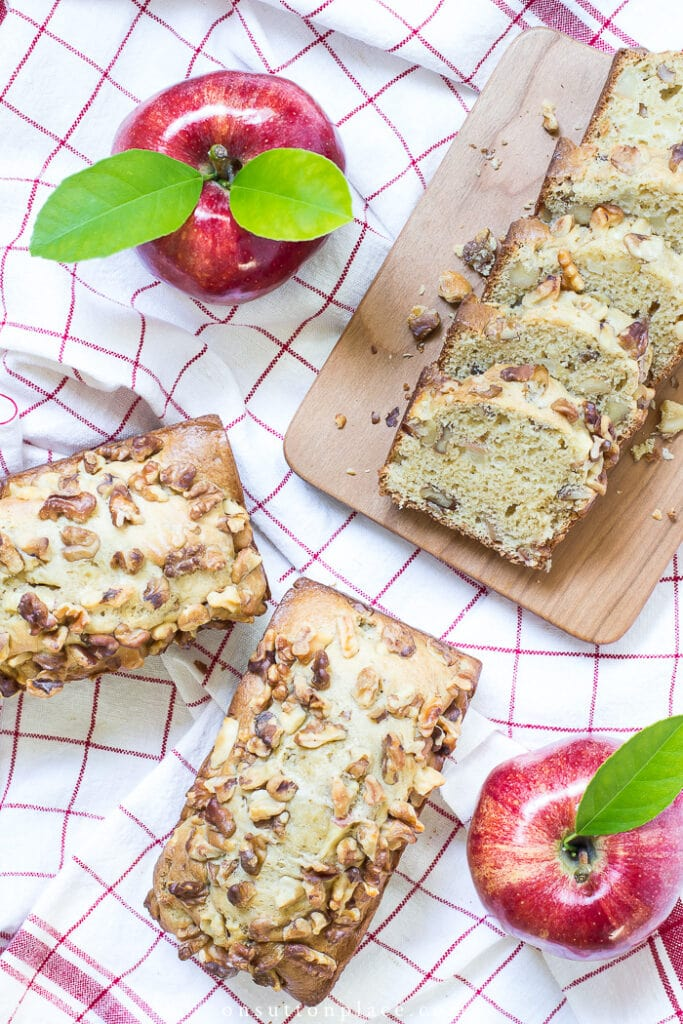 Apple Bread Recipe from On Sutton Place