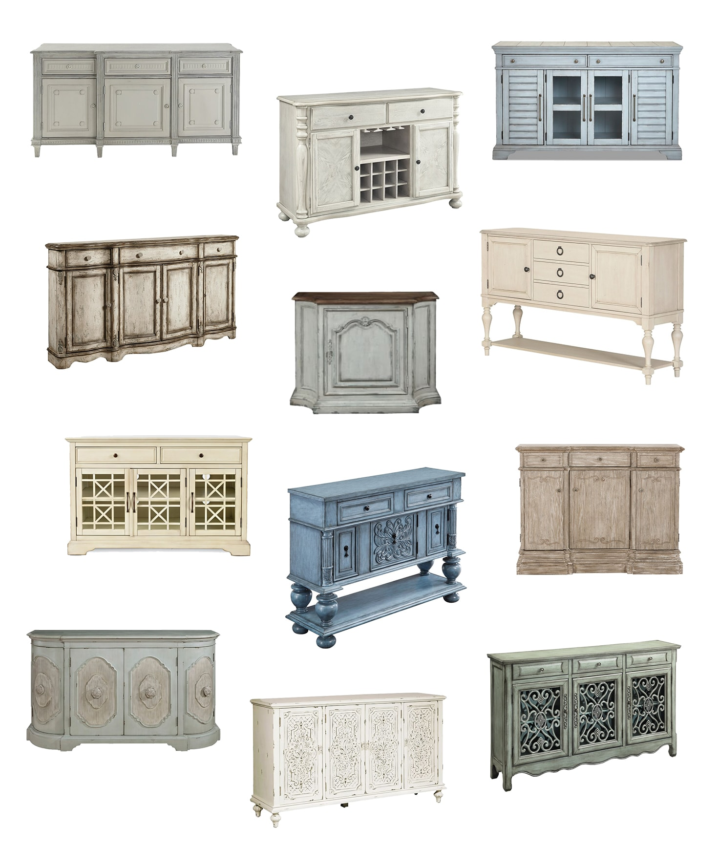 Where to Buy French Farmhouse Buffets & Sideboards