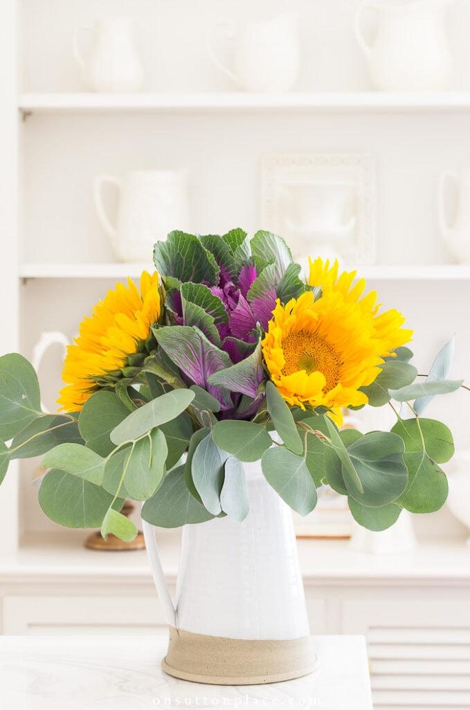 Sunflower Arrangement from On Sutton Place