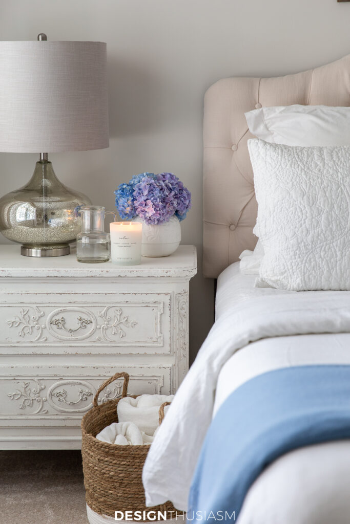 Welcoming overnight guests guest room
