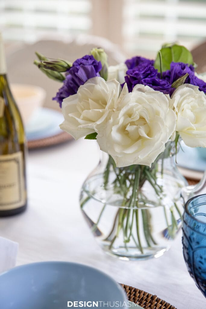 Welcoming overnight guests floral