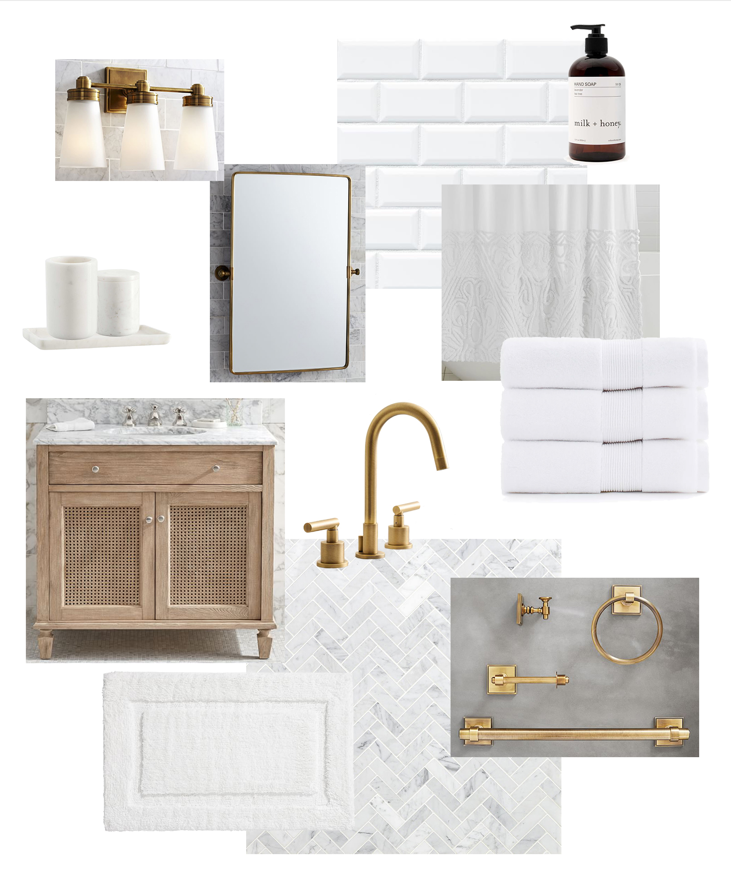 Small Bathroom Remodel Plans: A Simple, Clean Update