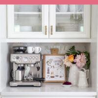 Premium kitchen coffee station