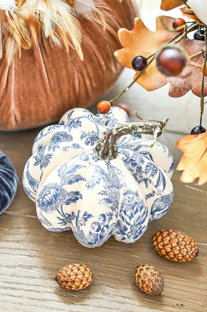 Chinoiserie Pumpkins- StoneGable