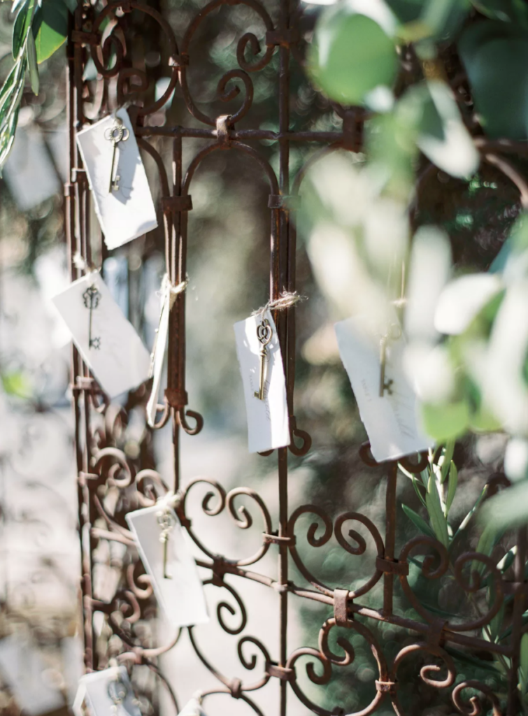 French-Inspired Wedding Details