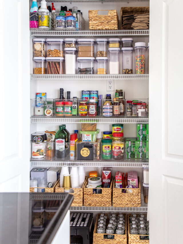 The Ultimate Kitchen Pantry Organization