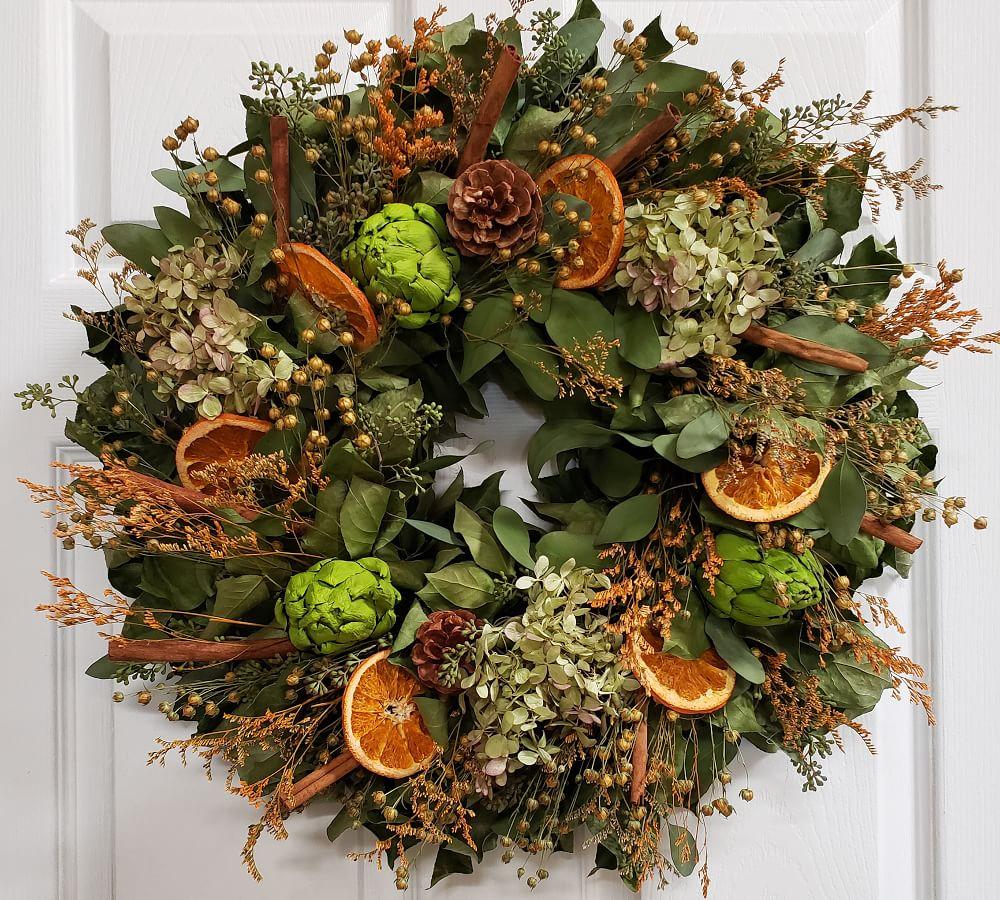 fresh-eucalyptus-mixed-wreath-with-dried-fruit