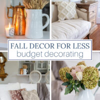 Fall Decor for Less