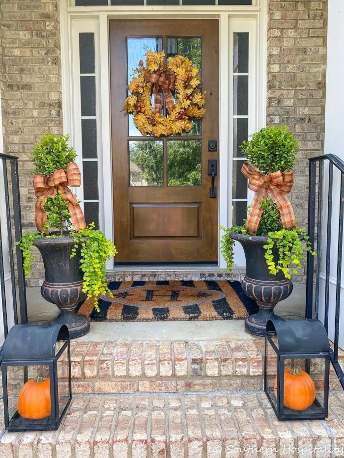 Fall Front Porch IdeasSH