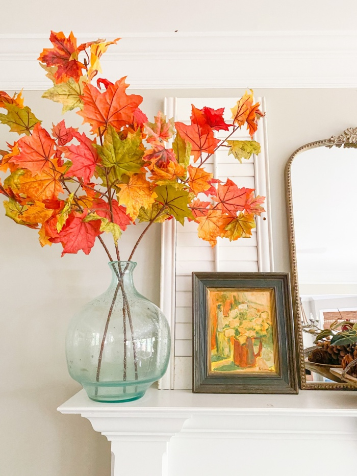 Fall Mantel and Family RoomSH