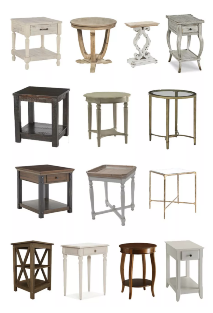 CB side tables