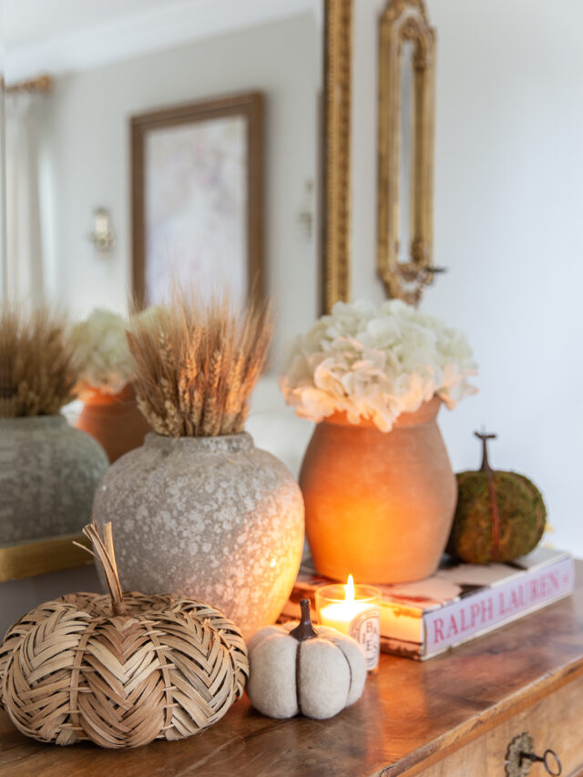 The Best Fall Living Room Decor in 5 Easy Steps