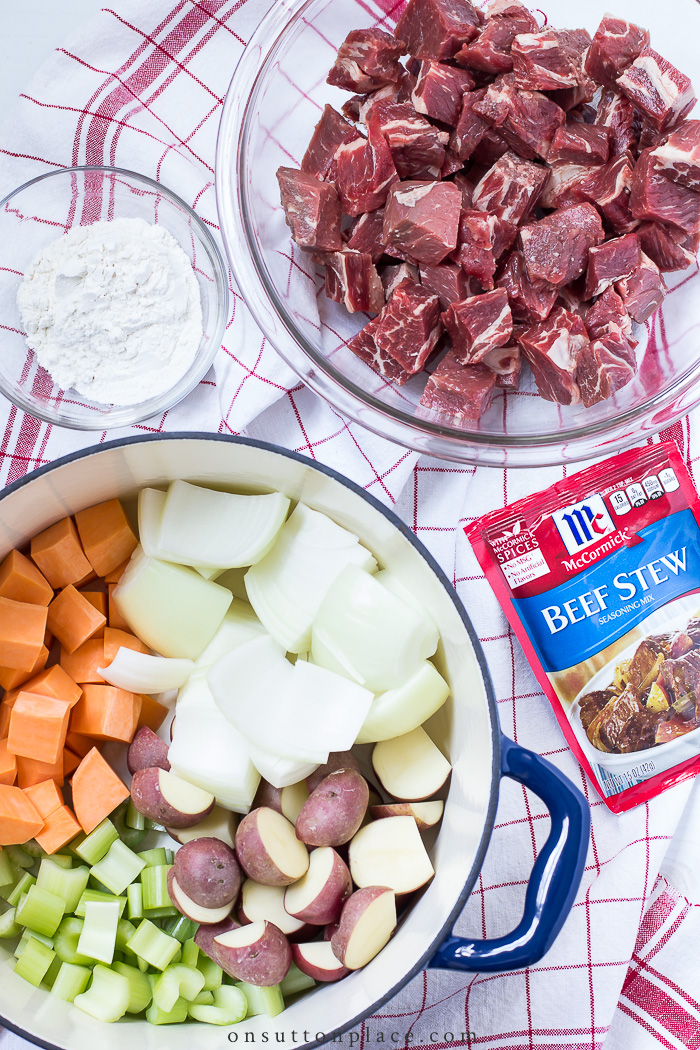 beef stew recipe from on sutton place
